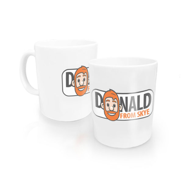 Donald from Skye mugs / cups